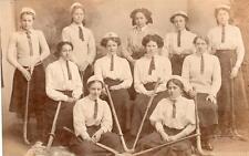 Hockey Team unused RP old pc H C Messer Salisbury