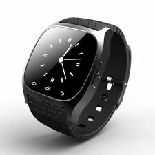 M26 Bluetooth Smart Bracelet Watch Phone Mate for Android Samsung Black