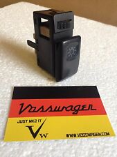 VW GOLF MK2 JETTA.GENUINE HEADLIGHT HEADLAMP LIGHT SWITCH & DIMMER 191941531C