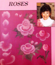 ART LESSON- INSTRUCTIONAL VHS VIDEO-JACKIE SHAW-ROSES-ACRYLIC