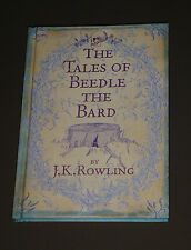 The Tales of Beedle the Bard  J. K. Rowling 2008 1st Edition Harry Potter EXC