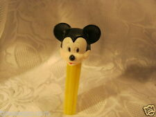 Vintage Mickey Mouse  Pez Candy Dispensers no feet Hong Kong
