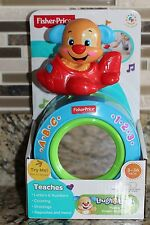 New Fisher-Price Laugh & Learn Puppy's Crawl-Along Ball 3-36 Months- Gift Idea