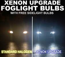 Xenon Upgrade FOG Light Lamp Bulbs H3 with Wire 55w & 501