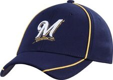 Milwaukee Brewers hat New Era flex fit new MLB Medium - Large fit Brew Crew