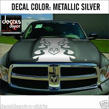 Hood Decal for DODGE Ram 1500 2500HD 3500 HD CrewCab Lariat Mega Cab SLT & more