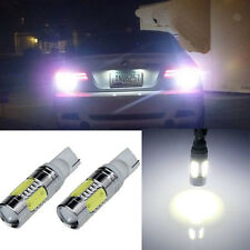 2X Bright White T10 168 T15 921 LED SMD High Power Signal Tail Turn Bulb Light