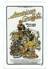 AMERICAN GRAFFITI MOVIE Sticker Decal