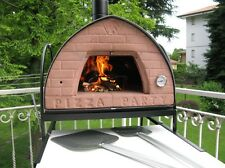 Pizza Party oven ORIGINAL mobile wood fired pizza oven bronze70x70 limited offer