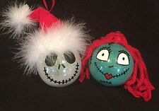 Jack Skellington & Sally Shatterproof Christmas Ornament Nightmare B4 Christmas