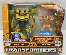 Transformers Bombing Run Battle Bumblebee vs. Grindor Wal-Mart Exc NIP 2010