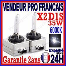 2 AMPOULES D1S AU XENON 35W KIT HID 12V LAMPE RECHANGE D ORIGINE FEU PHARE 6000K