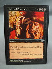 MTG Magic the Gathering Card X1: Infernal Contract - Mirage EX/NM