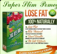 2 boxes Super Slim Pomegranate Enhanced with Lingzhi 60 Diet Supplements