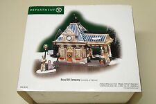 Department 56 Christmas In The City Royal Oil Company DEPT 2004 NIB