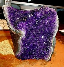 LARGE  AMETHYST CRYSTAL CLUSTER  GEODE CATHEDRAL FROM URUGUAY;