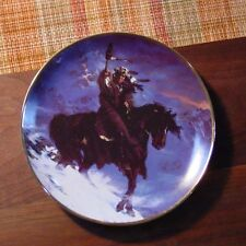 """Franklin Mint """"Spirit of the West Wind"""" collector plate"""