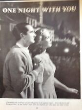 M3-1 Ephemera 1949 Picture Article Film One Night With You Patricia Roc