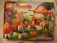LEGO BELVILE SET 7585  HORSE STABLE NEW IN SEALED BOX 2008 RETIRED LARGE SET