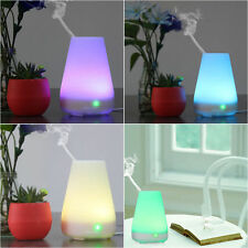 LED Essential Diffuser Oil Ultrasonic Humidifier Aroma Air Aromatherapy Purifier