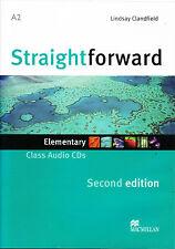 Macmillan STRAIGHTFORWARD Second Edition ELEMENTARY Class Audio CD @NEW 2012 Ed@