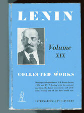V. I. LENIN - Collected works Volume XIX 1916-1917 HB/DJ 1942