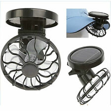 Portable Fans Mini Clip Hat Solar Sun Energy Power Panel Cell Cooling Fan Cooler