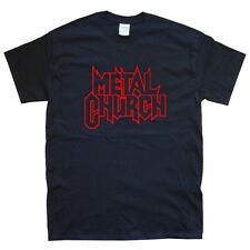METAL CHURCH T-SHIRT sizes S M L XL XXL colours Black, White