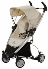 Quinny Zapp Xtra Ultra Compact Baby Stroller w/ Folding Seat Natural Mavis NEW