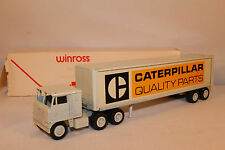 1970's Winross Caterpillar Quality Parts Semi Truck Nice with Original Box