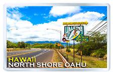 NORTH SHORE OAHU HAWAII MOD3 FRIDGE MAGNET SOUVENIR IMAN NEVERA
