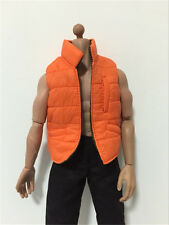 "Film spider man down vest 1/6 12"" Action Figure Toys clothes set hot toy"