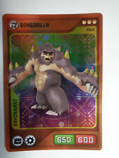 CARTE INVIZIMALS N° 181 BONGORILLA RAYONNANT NOUVELLE ALLIANCE NEUF