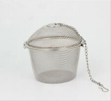 Stainless Steel Practical Tea Ball Spice Strainer Mesh Infuser Filter Herbal 1PC