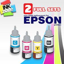 2 ensembles de couleur pleine de non - OEM High Yield encres pour EPSON ET-2500 ET-2550 ET-3600