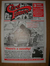 CARD TIMES MAGAZINE FORMERLY CIGARETTE CARD MONTHLY No 87 MARCH 1997