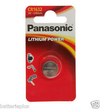 10-pc Panasonic Litio Metallo Cellula Pulsante Batteria 3 Volt Tipo CR1632 MHD