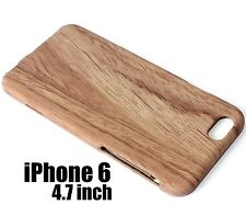 For iPhone 6 / 6S - HARD SNAP ON SKIN CASE COVER LIGHT BROWN WOOD OAK TREE