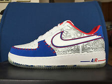 Nike Air Force 1 Low CMFT PRM QS 13 Puerto Rico White Blue Red Ice 2016 Olympics