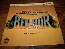BEN HUR 1959 ORIGINAL SOUNDTRACK HIGHLIGHTS 7 INCH EP,EXTENDED PLAY