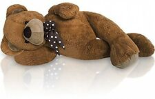 100cm Large Giant Kids Teddy bear, big soft plush child toys dolls teddies Brown