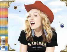 MADONNA - DON'T TELL ME 2000 INLAY SLEEVE ONLY EU MAVERICK - 93 62 44949-2