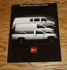 Original 1995 GMC Truck Commercial Vehicles Sales Brochure 95 Sierra Safari