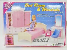 *NEW* 1:6 Gloria Barbie Licca Doll Furniture Bedroom Wardrobe Play Set