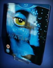 * AVATAR * BLU RAY STEELBOOK * REGION A, B * FULL GLOSS DESIGN ON FRONT AND BACK