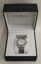 BNIB MAURICE LACROIX Aikon Gents Quartz Silver Stainless Steel Stylish Watch