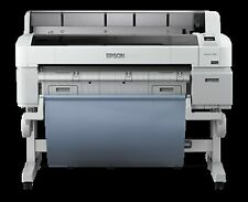 "Used Epson SureColor T7000 44"" Wide Large Format Big Inkjet Printer Plotter"