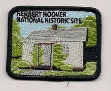 SOUVENIR  PATCH - HERBERT HOOVER NATIONAL HISTORIC SITE, IOWA