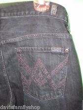 7 for all Mankind Seven Bootcut Size 32 Denim Blue Jeans