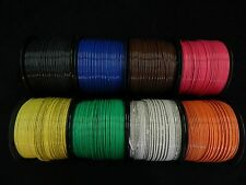 12 GAUGE THHN WIRE STRANDED 8 COLORS 25 FT EACH THWN 600V CABLE AWG BUILDING